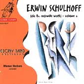 Schulhoff: Solo & Ensemble Works Vol 2 / Herbers, Ebony Band