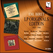 Idil Biret: LP Originals Edition 1959 - 1986 / Idil Biret, piano [14 CDs]