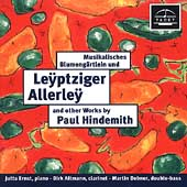 Leyptziger Allerley - Works by Paul Hindemith