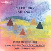 Hindemith: Cello Music / Thedeen, P&#246;ntinen, Markiz, et al