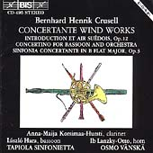 Crusell: Concertante Works / V&#228;nsk&#228;, Tapiola Sinfonietta