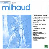 Milhaud: Le carnaval d'Aix, etc / Robertson, Nagano, et al