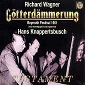 Wagner: G&ouml;tterd&auml;mmerung / Hans Knappertsbusch, et al