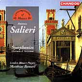 Contemporaries of Mozart - Salieri: Symphonies, etc