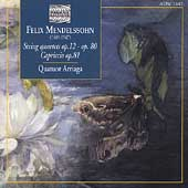 Mendelssohn: String Quartets, Capriccio / Arriaga Quartet