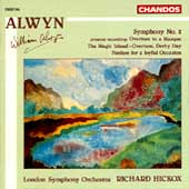 Alwyn: Synphony no 2, etc / Hickox, London SO