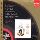 Puccini: Madama Butterfly / Barbirolli, Scotto, Bergonzi