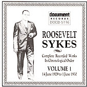 Roosevelt Sykes: Complete Recorded Works, Vol. 1 (1929-1930)