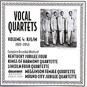 Various Artists: Vocal Quartets, Vol. 4: K/L/M