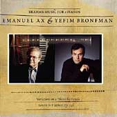 Brahms: Music for 2 Pianos / Ax & Bronfman