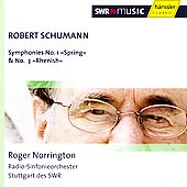 Schumann: Symphony no 1 & 3 / Norrington, et al