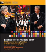San Francisco Symphony at 100. SF Symphony / Tilson Thomas [Blu-Ray]