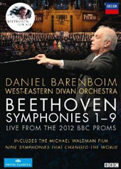 Beethoven: The Nine Symphonies - Live from the 2012 BBC Proms [4 DVD]