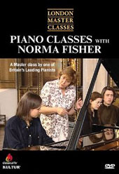 London Master Classes: Piano Classes with Norma Fisher [DVD]