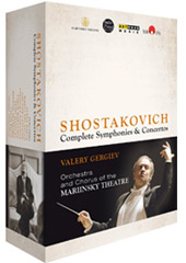 The Shostakovich Cycle: Complete Symphonies & Concertos / Mariinsky Theatre Chorus & Orchestra; Valery Gergiev [8 DVD]