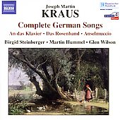 Kraus: Complete German Songs / Steinberger, Hummel, Wilson