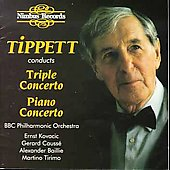 Tippett conducts Tippett: Triple Concerto, Piano Concerto