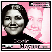 Dorothy Maynor in Concert at the Library of Congress