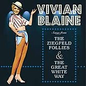 Vivian Blaine: Songs from the Ziegfield Follies