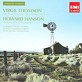 EMI American Classics - Thomson: The Plow that Broke the Plains;  Hanson: Symphony no 2