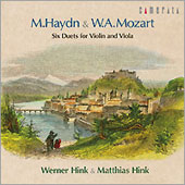 Haydn, Mozart: Duets / Werner Hink, Matthias Hink