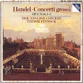 Handel: Concerti grossi Op 6, 5-8 / Pinnock, English Concert