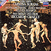 Orff: Carmina burana / Riccardo Chailly