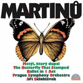 Martinu: The Butterfly That Stamped / Belohlávek