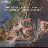 Monteclair: Cantates &agrave; Voix Seule / Emma Kirkby, soprano
