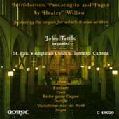 Willan, Cook, Dupré, Duruflé: Organ Works / John Tuttle