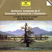 Beethoven, Schumann: Symphonies 5 & 3 / Giulini, Los Angeles