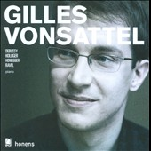 Gilles Vonsattel plays Debussy, Holliger, Honegger & Ravel / Gilles Vonsattel, piano