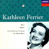 Kathleen Ferrier Edition Vol 7- Bach, Handel