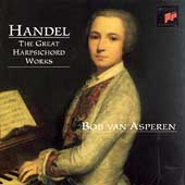 Handel: The Great Harpsichord Works / Bob van Asperen