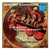 Telemann: Concertos for Woodwind Instruments