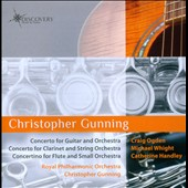 Christopher Gunning: Concertos for Guitar, Clarinet and Flute / Gunning, RPO
