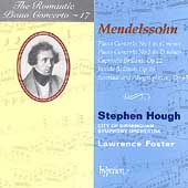 The Romantic Piano Concerto Vol 17 - Mendelssohn / Hough