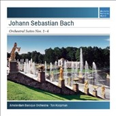J.S. Bach: Orchestral Suites Nos. 1-4 / Amsterdam Baroque Orchestra; Ton Koopman