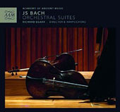 J.S. Bach: Orchestral Suites, BWV 1066-69 / Academy of Ancient Music, Egarr