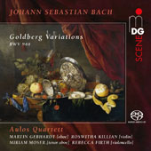 J.S. Bach: Goldberg Variations / Aulos Quartet