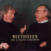 Beethoven: 5 Piano Concertos / Brendel, Rattle, Vienna PO