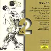 Weill: Kleine Dreigroschenmusik, etc / Atherton, et al