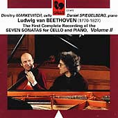 Beethoven: Seven Sonatas for Cello and Piano Vol 2