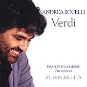 Verdi / Andrea Bocelli, Zubin Mehta, Israel Philharmonic