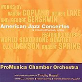 American Jazz Concertos / Russell, Jackson, Spring, et al
