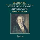 Beethoven: Complete Music for Piano Trio 2 / Florestan Trio