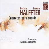 E. Halffter: String Quartets / Cuarteto Latinoamericano