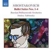 Shostakovich: Ballet Suites no 1-4 / Yablonsky, Russian PO
