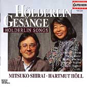H&#246;lderlin Songs / Mitsuko Shirai, Hartmut H&#246;ll