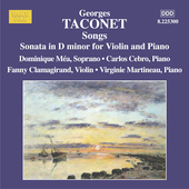 Taconet: Songs, etc / Méa, Cebro, Clamagirand, Martineau